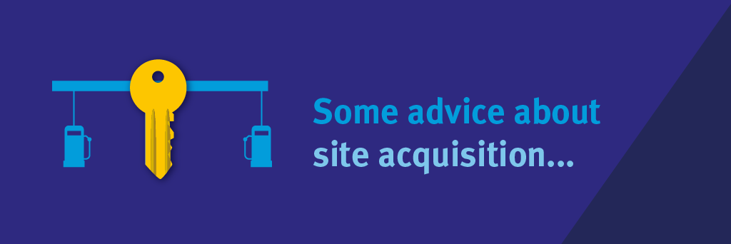 Some advice about site acquisition...